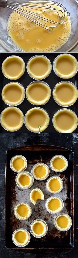 HongKong Egg Tarts Recipe by the Woks of Life
