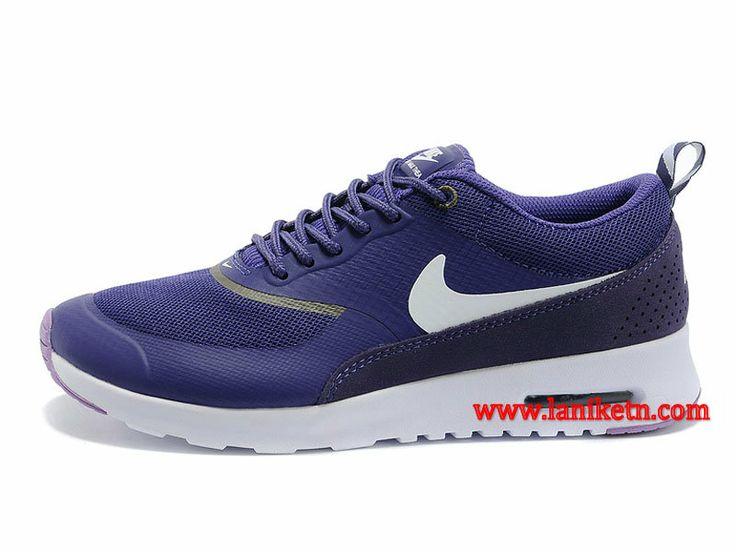 Nike Air Max Thea Print Chaussure Pour Femme Pourpre Blanc 599408-501