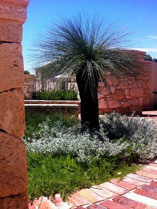 Grasstree, eremophila and grevilleas
