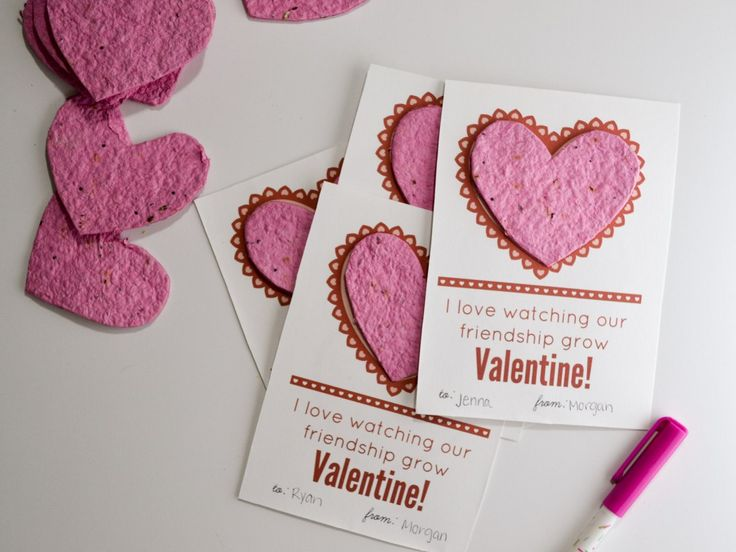 The 25+ best DIY Valentine\'s no candy ideas on Pinterest ...