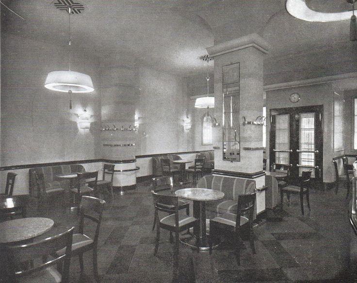 Berlin caf telschow 1929 20ger jahre architektur for Architektur 1929