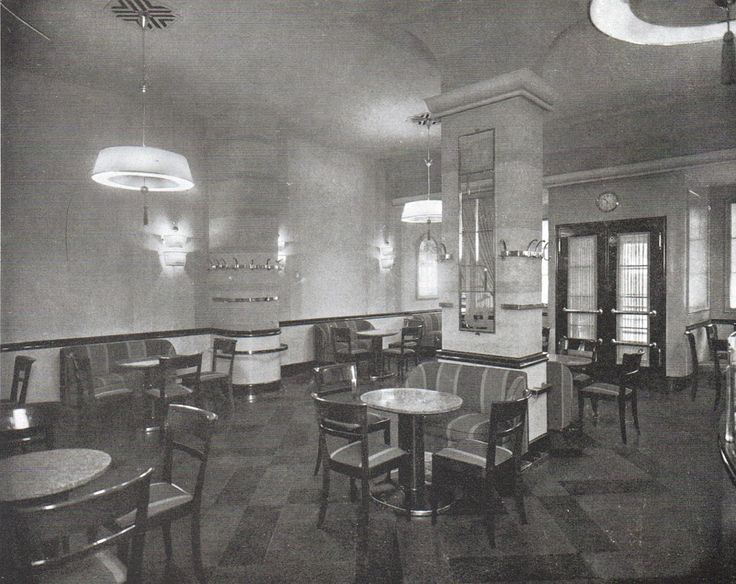 berlin caf telschow 1929 20ger jahre architektur pinterest architektur. Black Bedroom Furniture Sets. Home Design Ideas