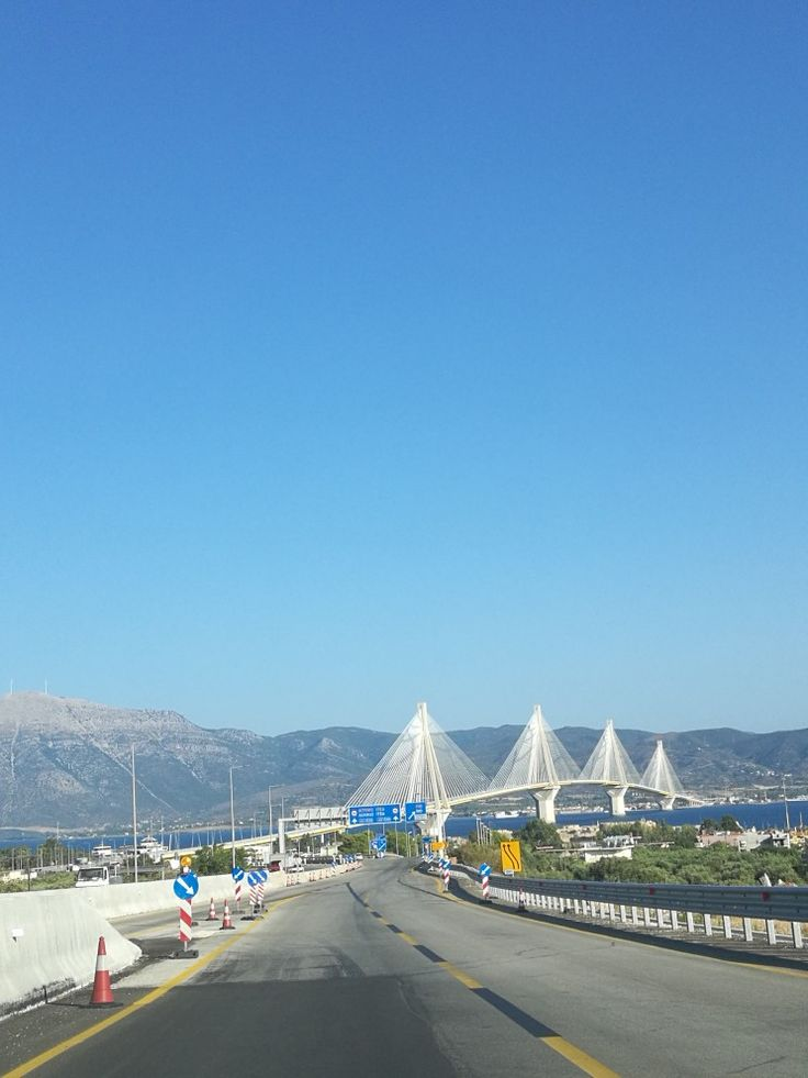 Rio antirio bridge, Patra, Greece
