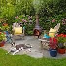 easy backyard sitting area ideas - Google Search
