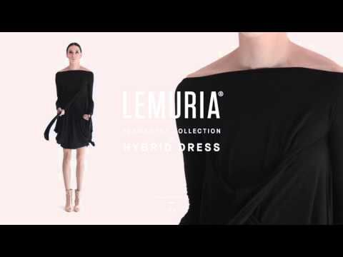 Lemuria - Hybrid Dress.   #woman #clothing #multifunctional #dress #italy #brand #designclothing #design #italianbrand #boutique #cotton #jersey #lemuria #permanent #collection #dress #overall #convertible #convertibledress #lemuria #lemuriastyle #lemuriaclothing #lemuriadress