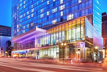 Stay at a boutique Boston hotels with the W Boston Hotel on your next trip to Boston.