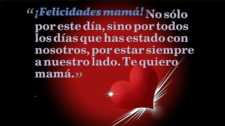 Ver video con poema corto para la madre ausente: http://youtu.be/4RidinjX4mY