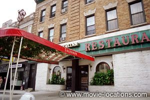 Goodfellas filming location: The disastrous double date: Salerno's Restaurant, Hillside Avenue, Richmond Hill, Queens