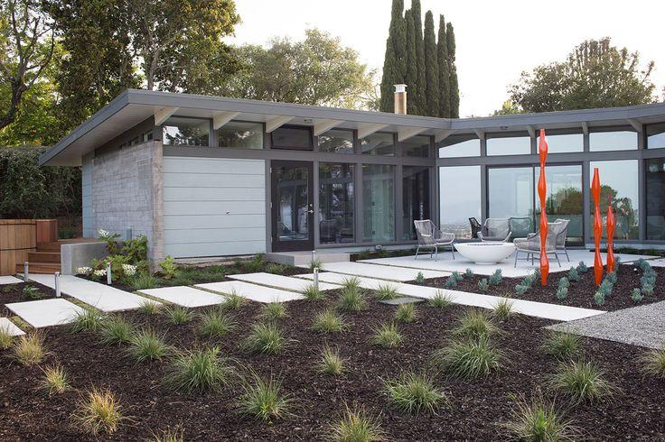 Необычные одноэтажные дома: современный взгляд на модерн