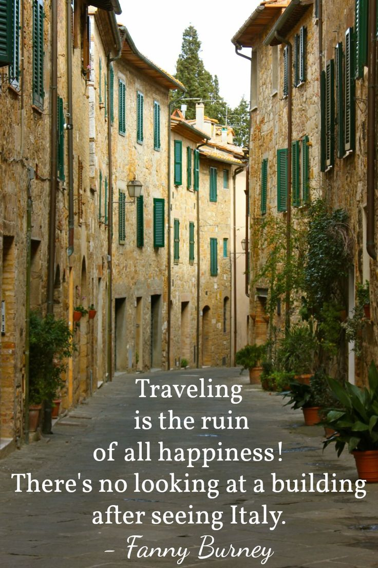 10 Italy Quotes That Will Give You Serious Wanderlust | Miss Adventures Abroad