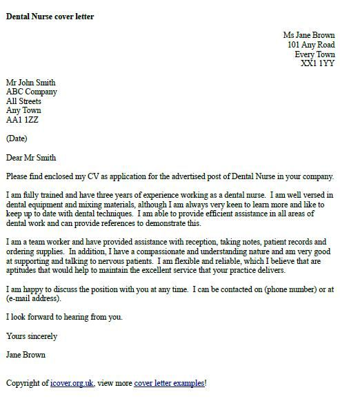 covering letter british style