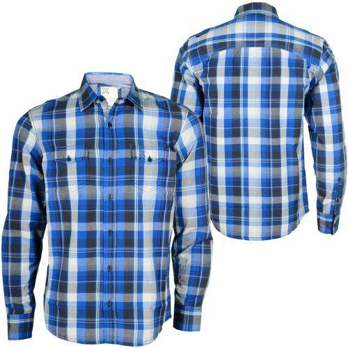 Oxbow Terremo Chemise Men Shirt blue