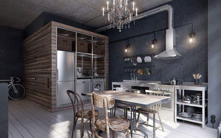 今回ご紹介するのはロシアの首都モスクワのワンルーム。スタジオタイプの部屋ですが、上手に仕切りを付けて、リビング・キッチン・ベッドルームを分けています。 広めのキッチンまるでレストランの厨房のよう、本格的に料理ができる他、 …