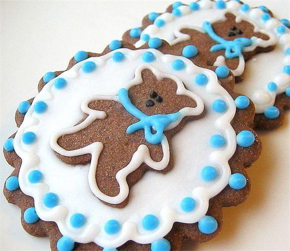 Teddy Bear Cookies Chocolate Sugar By SugarMeDesserterie Etsy