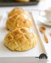 Hong Kong Style Pineapple Bun Recipe 港式菠蘿包