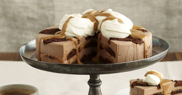 Chocolate ripple caramello cheesecake | OverSixty
