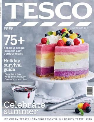 Tesco magazine - July/August 2017