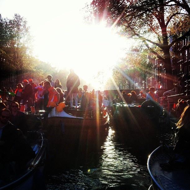 #queensday #amsterdam  Loving everything!