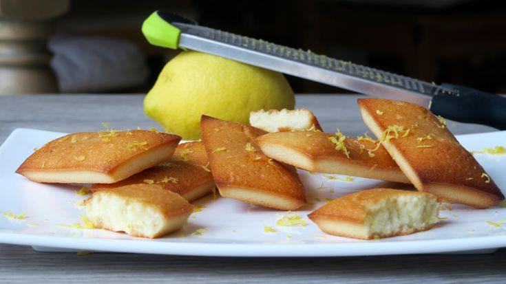 Financiers à l'huile d'olive, citron et gingembre