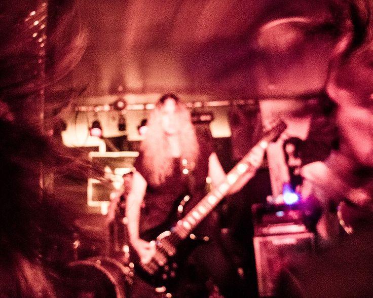 Headbanging metalheads @ Incursion, Perth