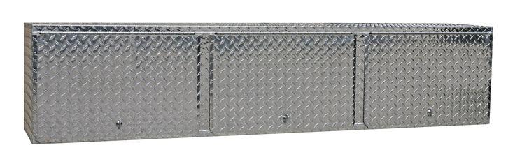 Pit Posse 903 Overhead Storage Shop Aluminum Cabinet Race Car Enclosed Cargo Trailer Shelf