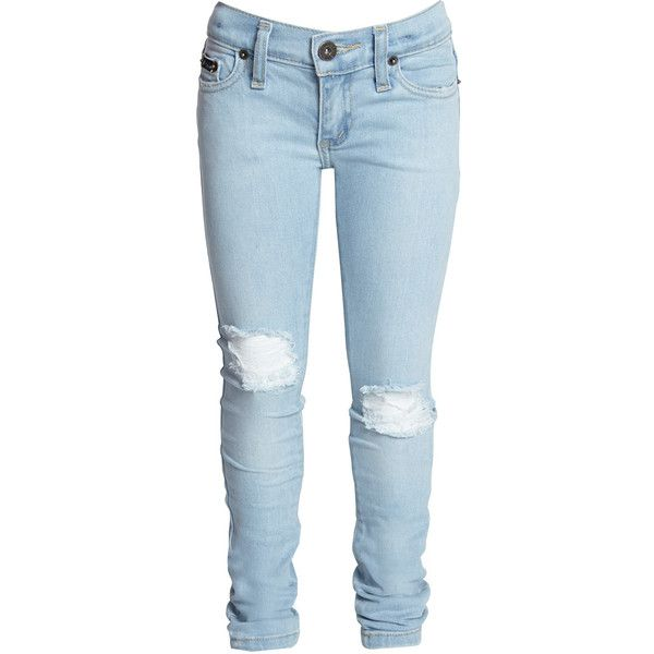 Bardot Junior Ripped Jean ($57) ❤ liked on Polyvore featuring jeans, pants, bottoms and kids