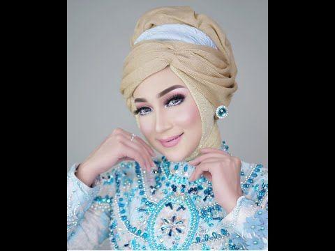 Tutorial Hijab Wedding Ala Princess Cinderella By Visa