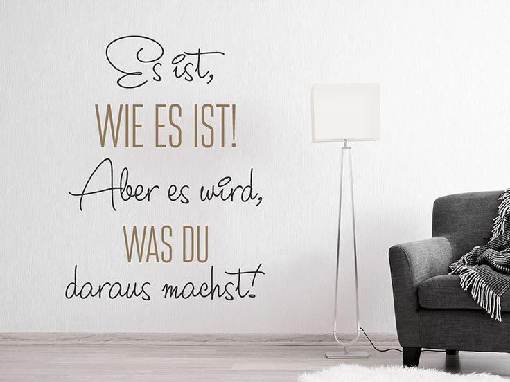 Das Wandtattoo Was du daraus machst hier bestellen. ✓ Große Auswahl | Top Qualität | schnelle Lieferung | kostenloser Versand (D) bei Wandtattoos.de.
