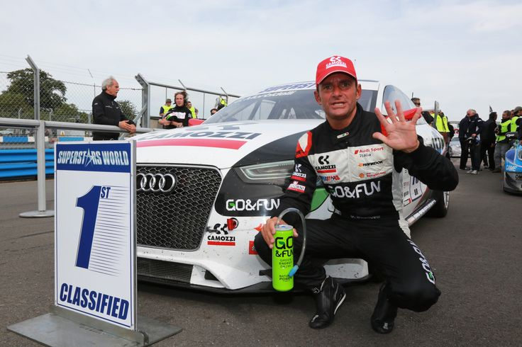 Gianni Morbidelli wins Race2 and leads the Championship standings with Thomas Biagi.  Morbidelli drives and Audi RS5 Sprint Filter P08 air filter equipped