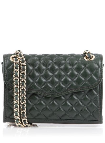 Rebecca Minkoff, Quilted Mini Affair, Hunter with Gold hardware