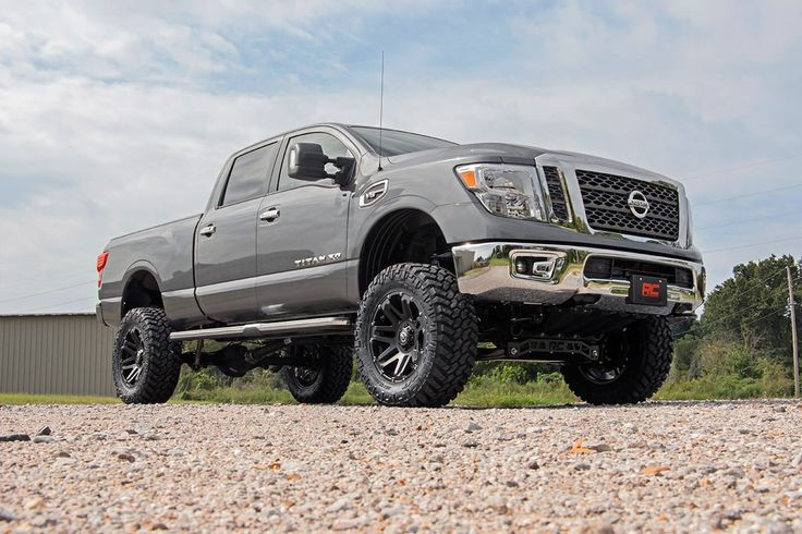 2016 nissan titan xd w 6in suspension lift kit titan pinterest nissan titan lift kits. Black Bedroom Furniture Sets. Home Design Ideas