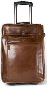 Leather-Laptop-Cabin-Size-Wheeled-Hand-Luggage-Business-Trolley-Case-Flight-Bag