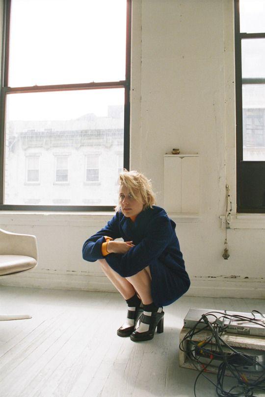 Greta Gerwig, photographed by Marlene Marino for Dazed & Confused, Sep 2015.