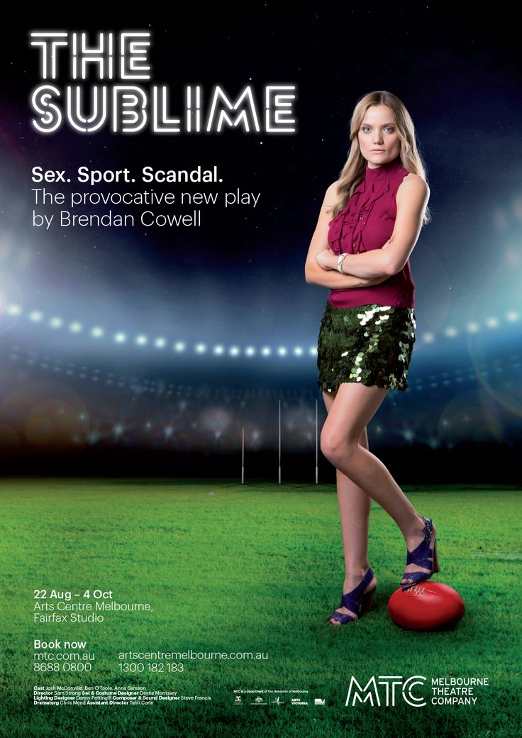 The Sublime by Brendan Cowell Poster Art http://www.mtc.com.au/plays-and-tickets/mainstage-2014/the-sublime/