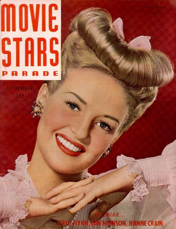 Betty Grable Movie Stars Magazine (September 1946)