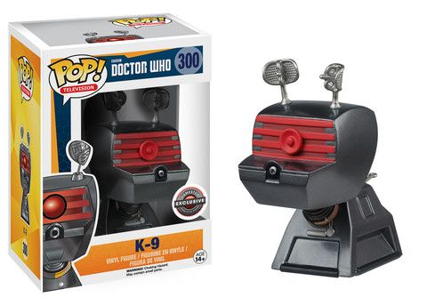Here is a look at the exclusive Gamestop Doctor Who K-9 Pop, expect this to find its way to the
