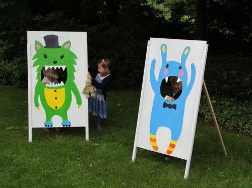 Monsters photo booth