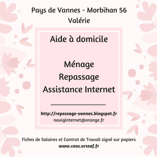 Aide à domicile Web PAYS DE VANNES (naviginternet@orange.fr) (http://repassage-vannes.blogspot.fr)