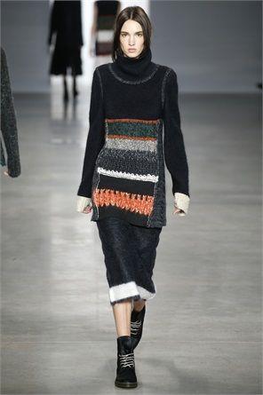 Modello di Calvin Klein
