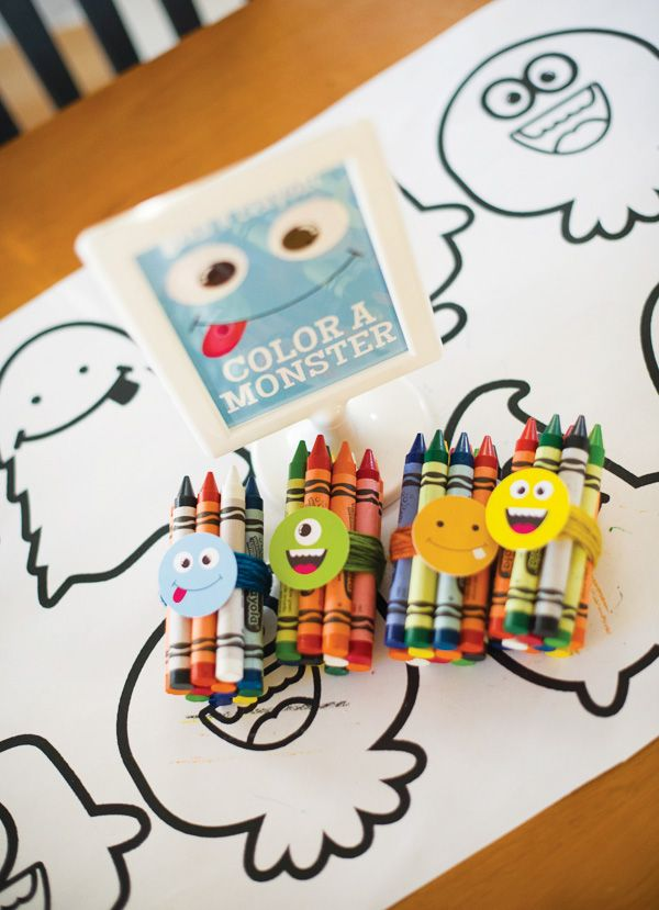 Cute & Happy Little Monster Bash Party by Hostess with the Mostess
