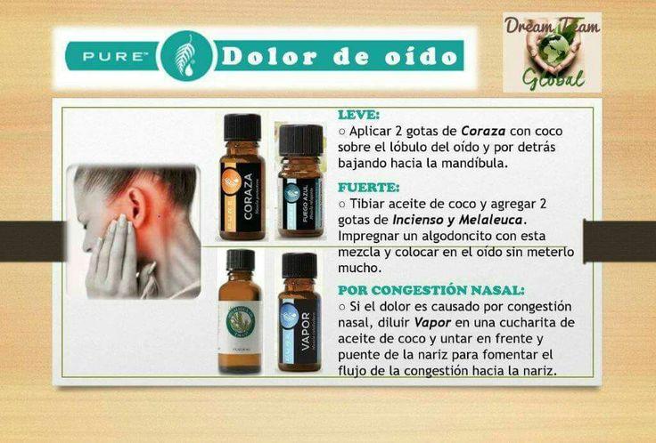 Pure Melaleuca Dolor oído