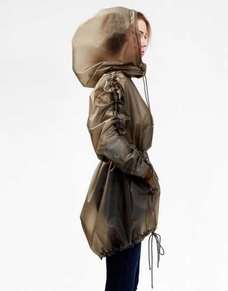 Terra NY raincoat. About time they started making stylish raincoats for woman.