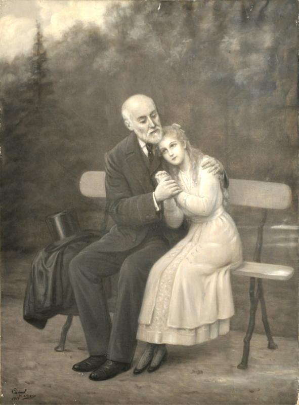 VIE-50 Thérèse demande à son père la permission d'entrer au carmel