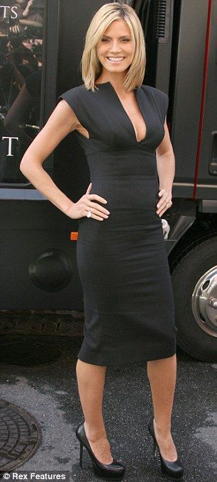 Heidi Klum in Victoria Beckham 2 of my favorite things