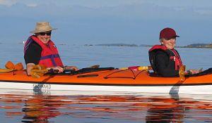 Kayak rentals and tours on Mayne