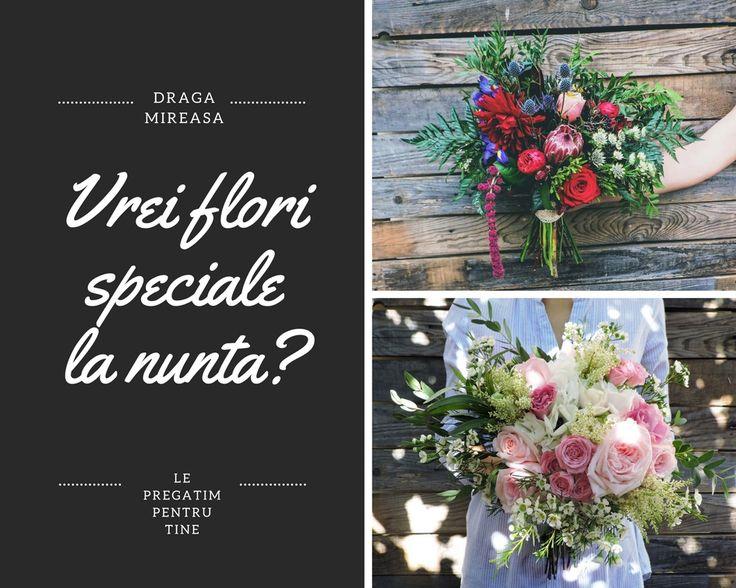 Oferta design floral nunta 2018