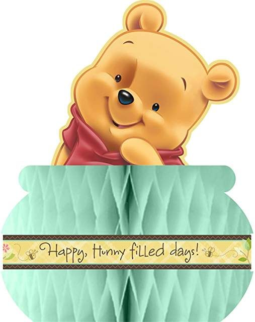 Classic + Modern Winnie the Pooh Baby Shower // Hostess