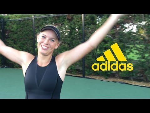 Caroline Wozniacki: Here To Create - adidas - YouTube