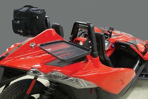 PSS008 – Quick detach luggage rack kit for Polaris Slingshot – Rear-End…