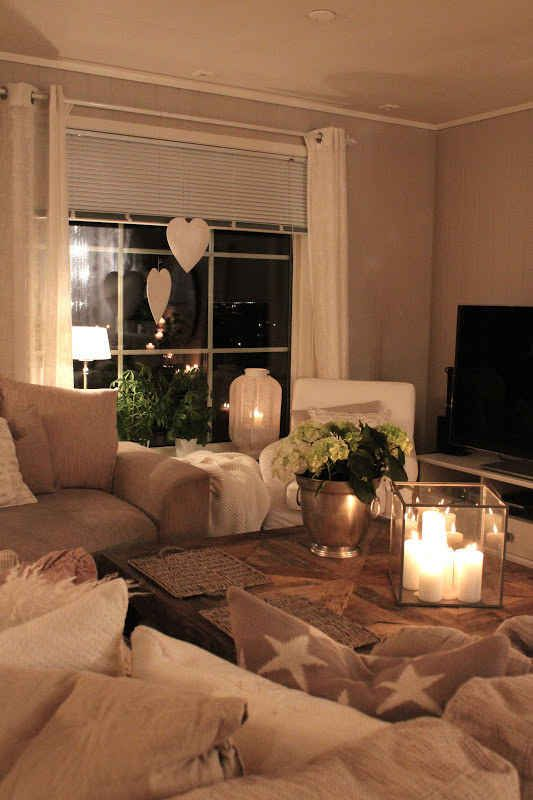 Pick one room and prioritize making it completely cozy.